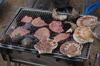 グルメな海鮮BBQ