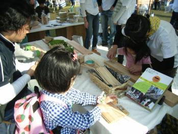 お箸作り体験