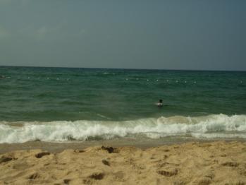 丹後の浜辺