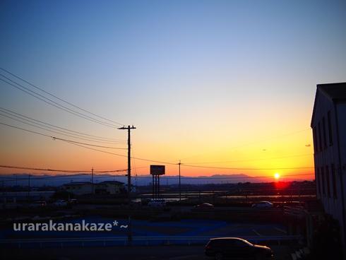 夕日(E-PL2で)