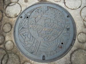 四国 高知 マンホール 丸亀