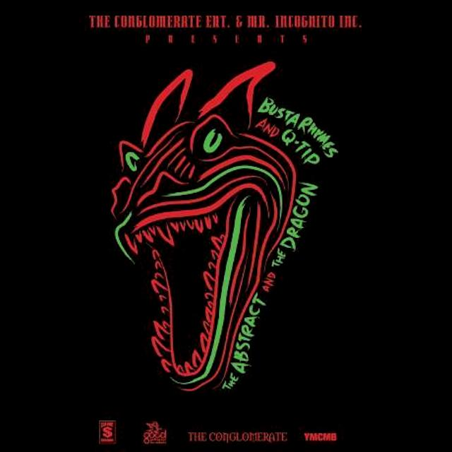 QTip And Busta Rhymes The Abstract and The Dragon2