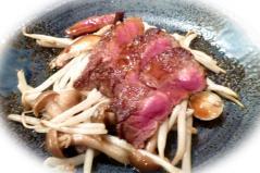 一応神戸牛食っとかないとって。