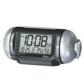 激音ベル音アラームの電波デジタル目覚まし時計