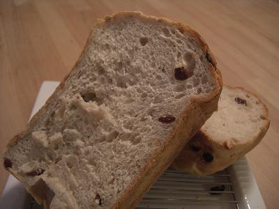 くるみレーズン食パン2