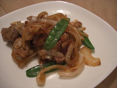 春野菜と豚のキムチ炒め