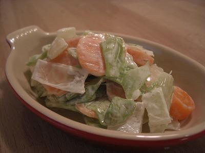 茹で野菜サラダ