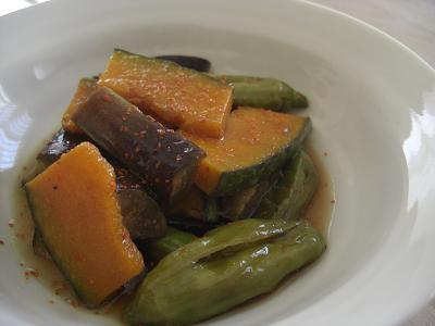 焼き野菜の南蛮漬け2