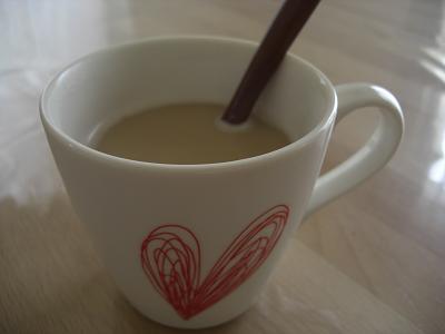 ほうじ茶ラテ2