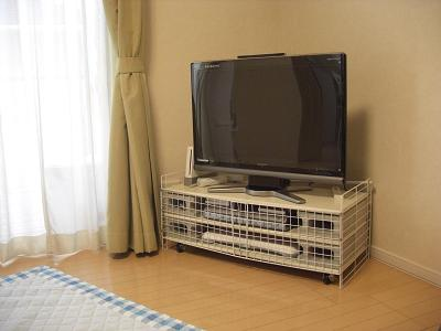 テレビ台対策