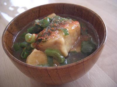高野豆腐の揚げ煮2