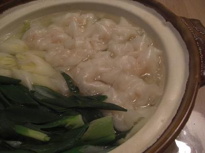 えび餃子鍋