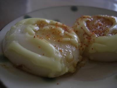 焦がしマヨネーズ醤油餅