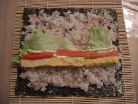 サラダ巻き