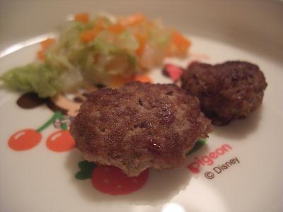 離乳食豆腐ハンバーグ