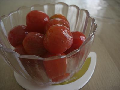 プチトマトのコンポート