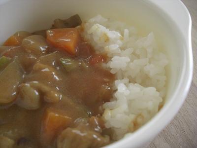 夏野菜カレー(息子用)