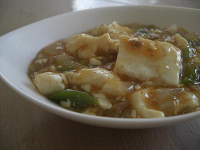 キムチマーボー豆腐