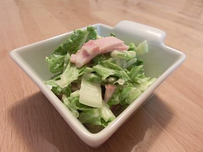 白菜マヨサラダ