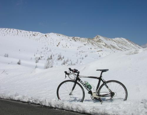 草津 雪山