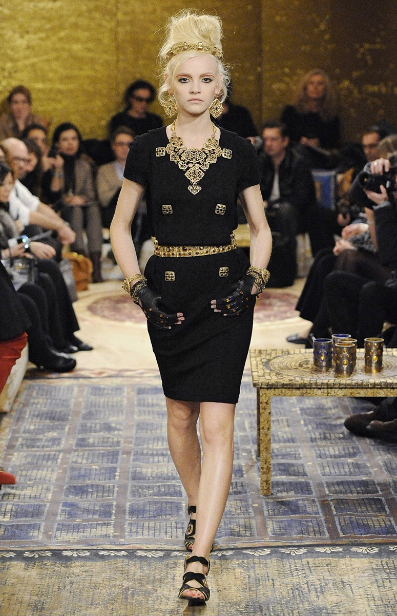 Chanel women Pre-fall 2011 collection.