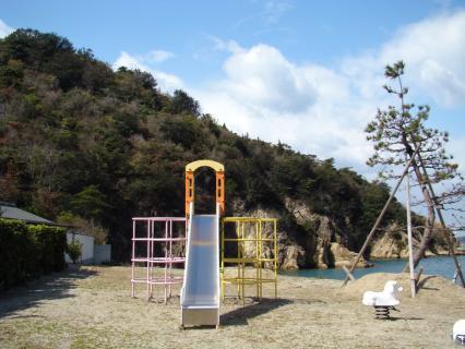 海岸と公園