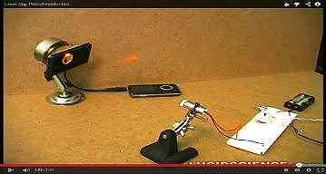 Laser Spy PhotoResistor test