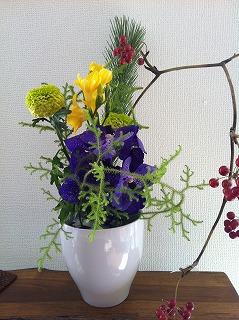 2012.正月 生け花
