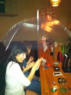 傘ガール。