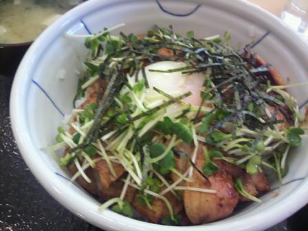 ベーコン丼70