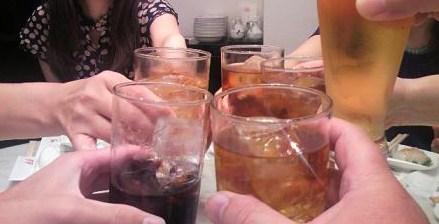愛蓮で乾杯70