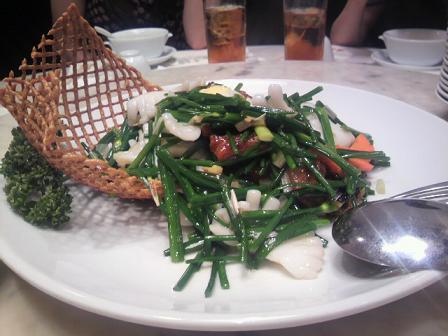 牛肉ニンニクの芽炒め70