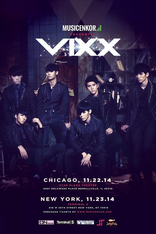 "MUSIC ENKOR PRESENTS 1st US ""VIXX SHOWCASE 2014"""