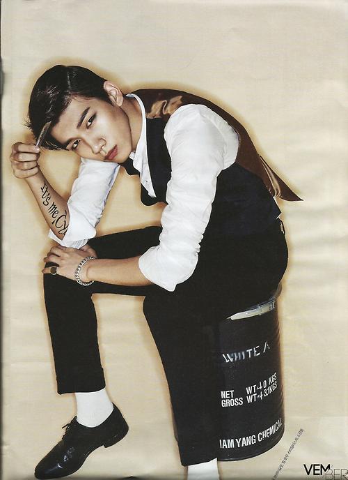 VIXX表紙 THE STAR 2014年11月 1
