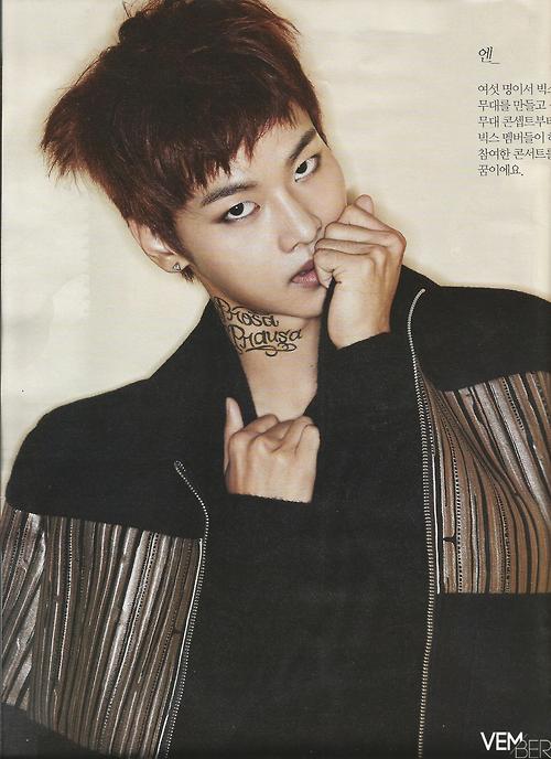 VIXX表紙 THE STAR 2014年11月 8