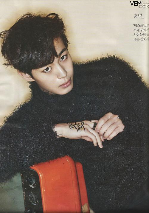 VIXX表紙 THE STAR 2014年11月 9