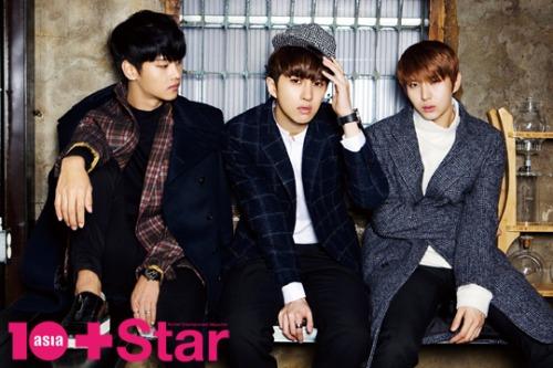 VIXX表紙10+asia star 12月号 1