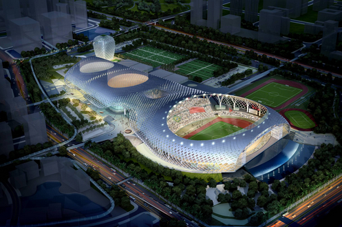Shenzhen Bay sports center 1