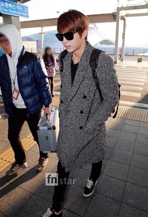 VIXX 141129 仁川空港ファッション1