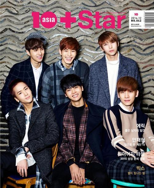 VIXX表紙 30P掲載 10+asia star 12月号 韓国雑誌