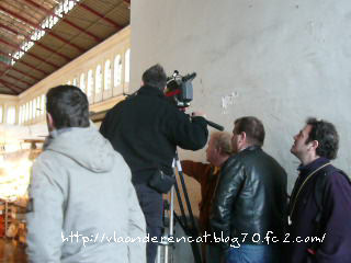 某報道テレビの撮影