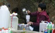 中国の水。