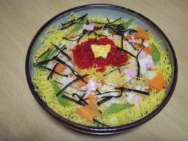 雛祭りちらし寿司