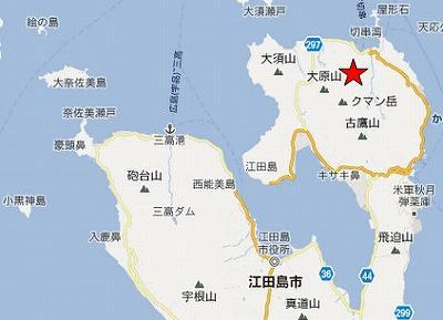 江田島地図2分割北(クマン岳)