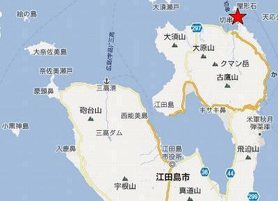 江田島地図2分割北(屋形石中部)