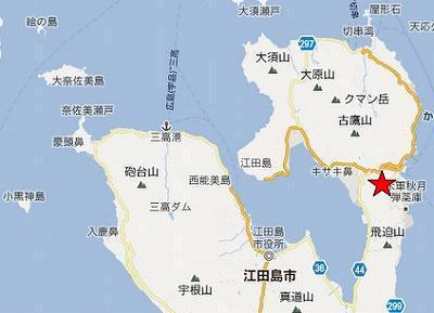 江田島地図2分割北(中央)