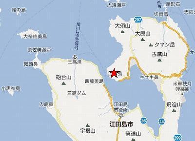 江田島地図2分割北(津久茂鉱山)