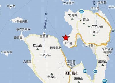 江田島地図2分割北(津久茂北)