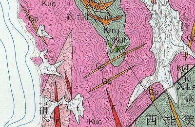 玄武岩地図