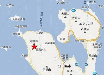 江田島地図2分割北(砲台山)